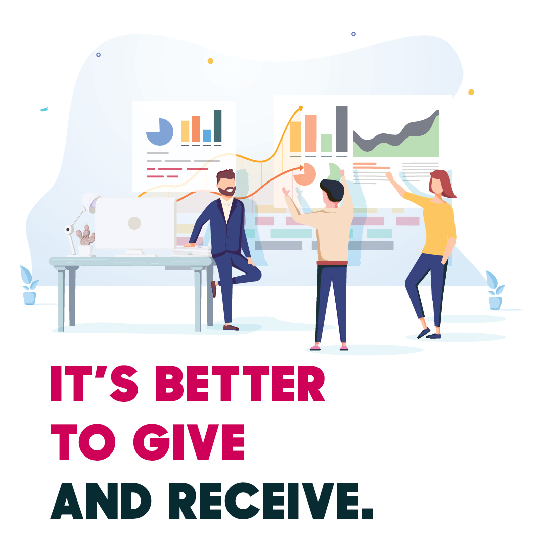 It's Better to Give and Receive When Engaging in Non-Personal Promotion Data Research