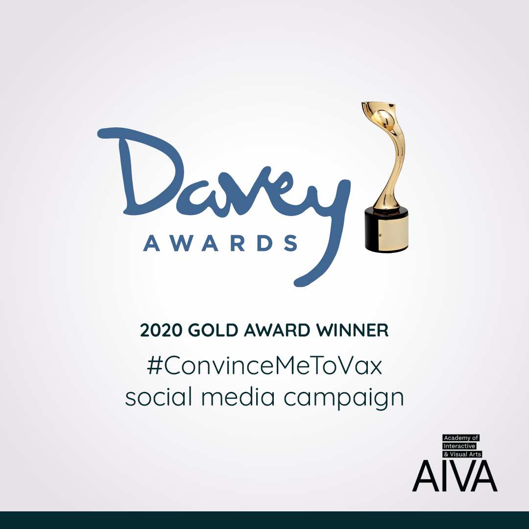 2020 Gold Davey Award