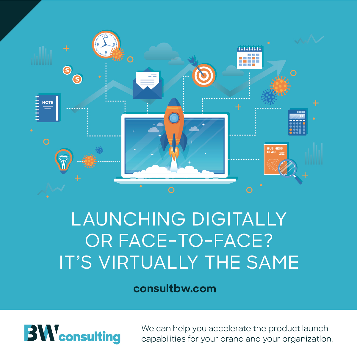 Launching Digitally or Face-to-Face? It's Virtually the Same