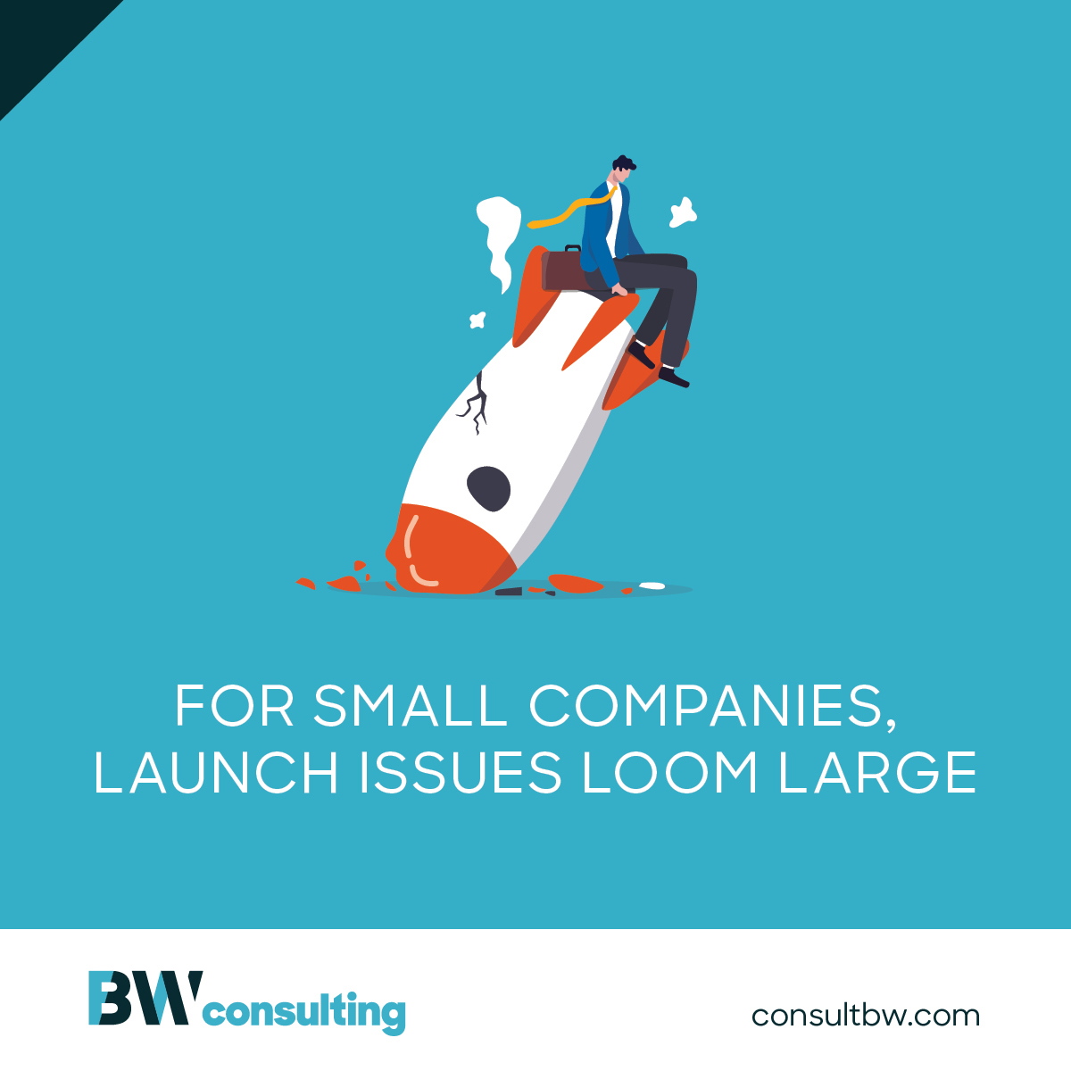 For small companies, launch issues loom large
